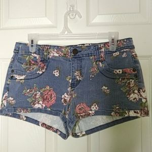 Mossimo Floral Denim Jeans Size 13 Fit 6